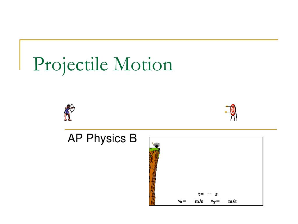 Ppt free fall & projectile motion powerpoint presentation id.
