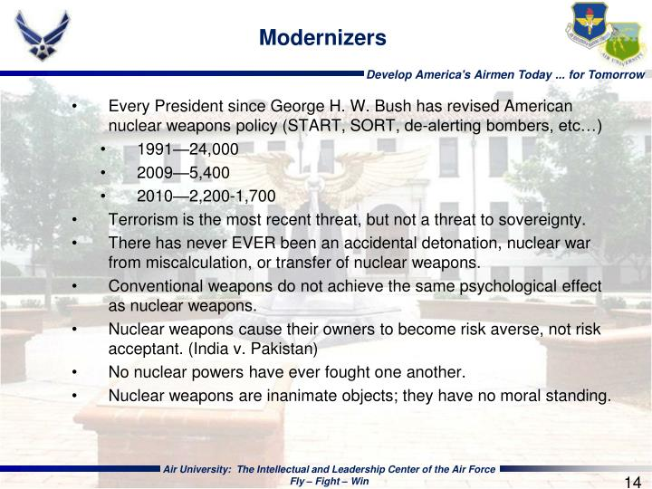 Modernizers
