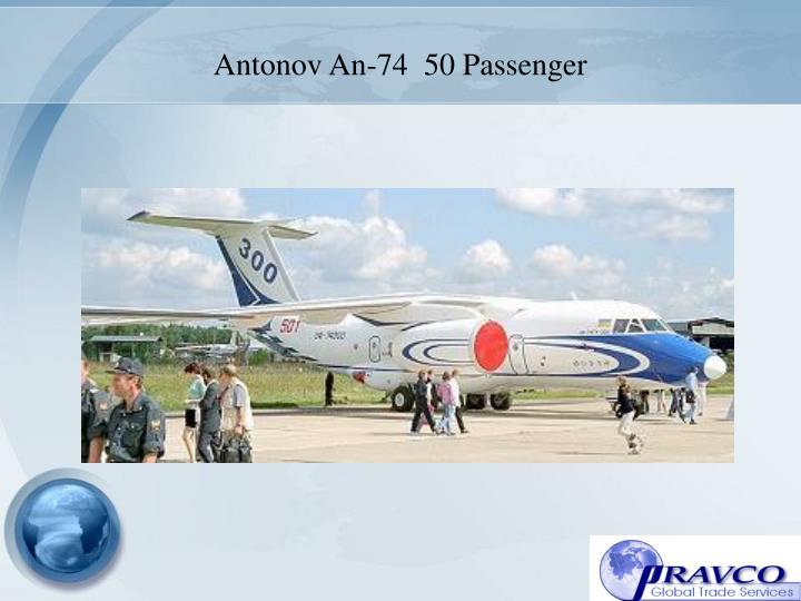 Antonov An-74  50 Passenger