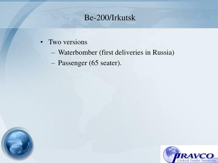 Be-200/Irkutsk