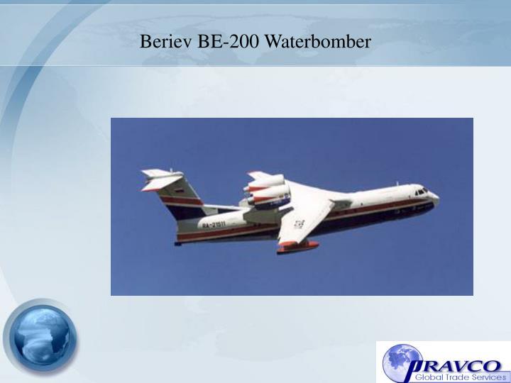 Beriev BE-200 Waterbomber