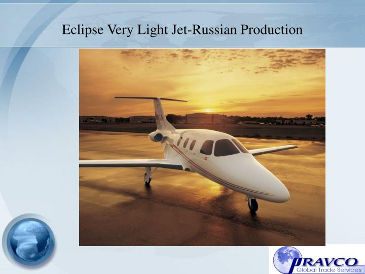 Eclipse Very Light Jet-Russian Production