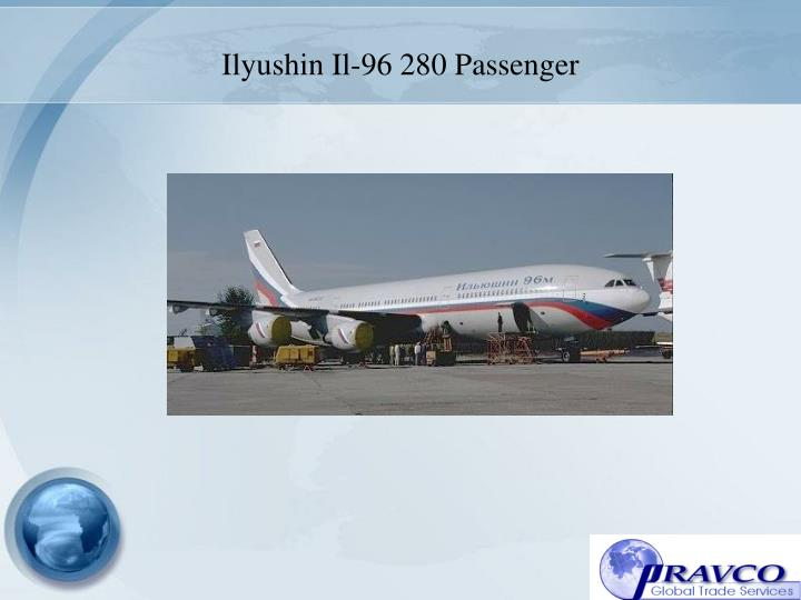 Ilyushin Il-96 280 Passenger