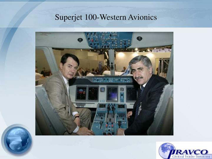 Superjet 100-Western Avionics