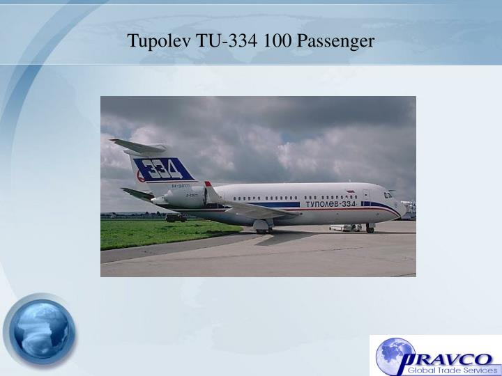 Tupolev TU-334 100 Passenger