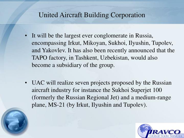 United Aircraft Building Corporation