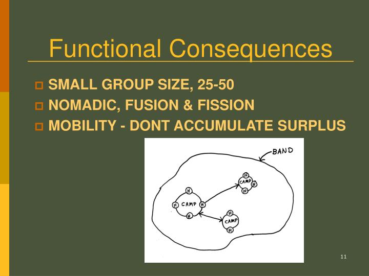 Functional Consequences