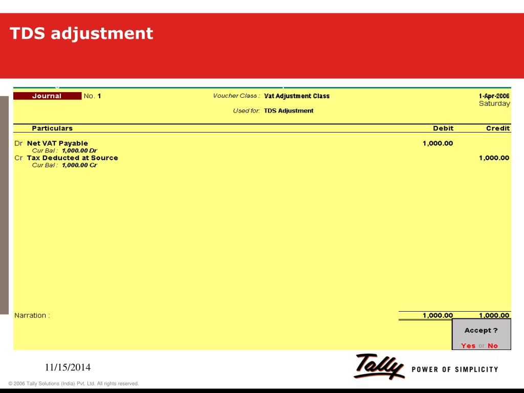 accounting voucher creation in tally 7.2