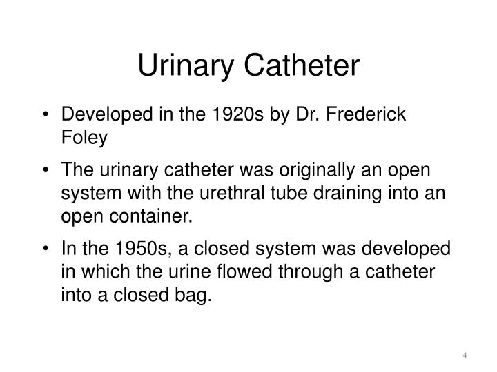 essay on urinary catheterisation Urethral catheterisation is performed for many reasons eg occasionally patients with urinary problems need them long term, acute urinary urethral catheterisation (male) foreword this skill involves you inserting a catheter into a male patient's bladder it is performed for many reasons eg.