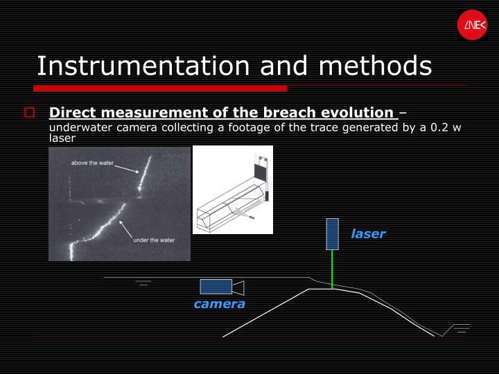 Instrumentation and methods