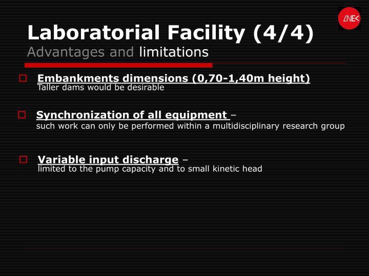 Laboratorial Facility (4/4)