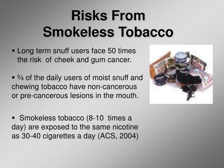 Risks From