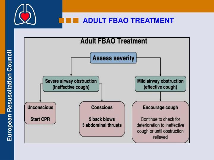 ADULT FBAO TREATMENT