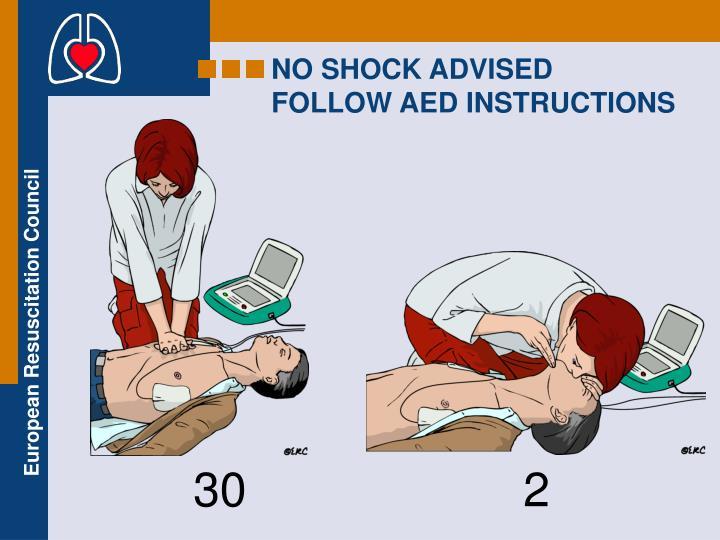 NO SHOCK ADVISED