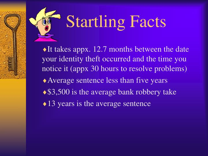 Startling Facts