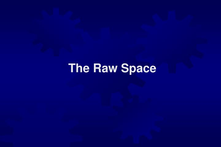 The Raw Space
