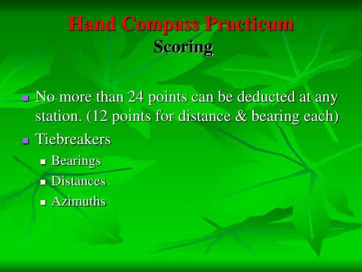 Hand Compass Practicum