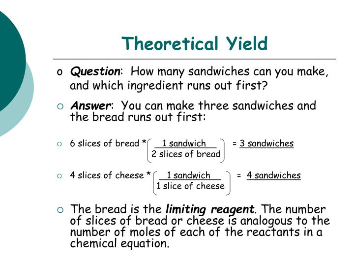 Theoretical Yield