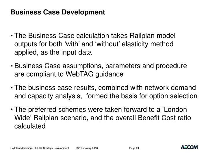 Business Case Development