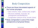body composition1