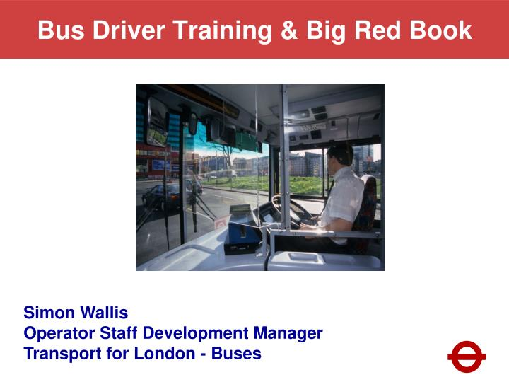 bus driver training big red book n.