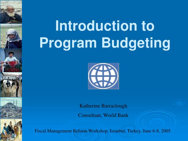 a introduction of budgeting Budgeting — introduction think of something you really wantdo you have a plan for getting it if you don't, stop dreaming and start making it happen — with a budget.