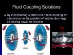 fluid coupling solutions
