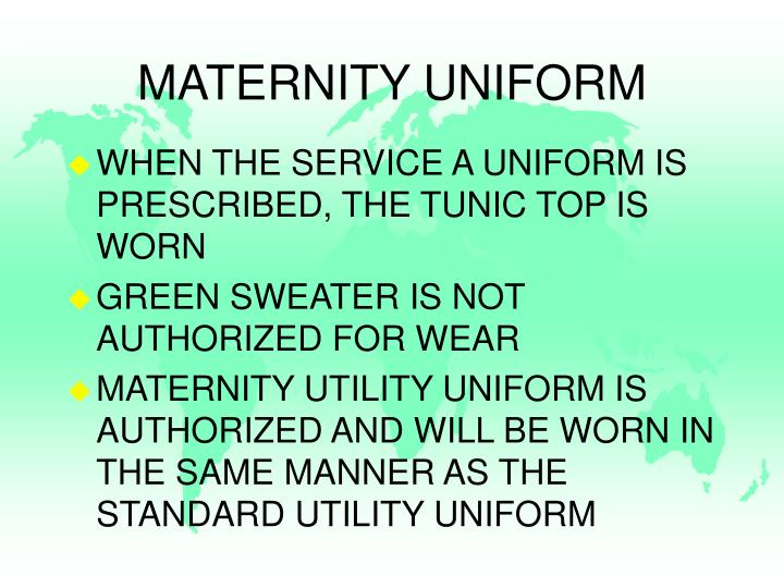 MATERNITY UNIFORM