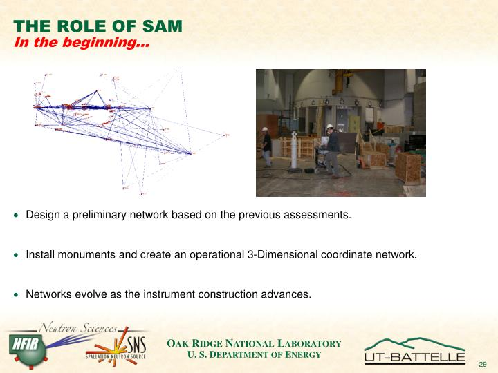 Design a preliminary network based on the previous assessments.