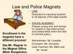 law and police magnets