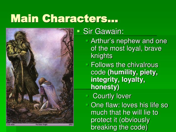 """sir gawains loyalty to the king makes him a quality hero Jeffrey cohen explains that the giant-slaying hero template is an especially durable one, owing largely to david: """"because david fought a giant as the first step to assuming his identity as hero and king, so future heroes and future kings such as arthur fight the same battle, triumph against the same monster, come of age through the same."""