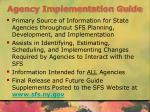agency implementation guide