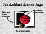 the sabbath school logo