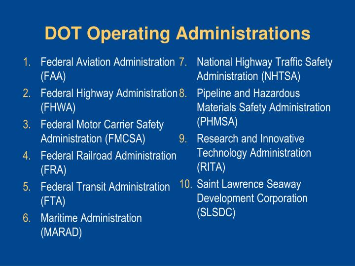 Ppt Getting You There Us Dot Programs And Services