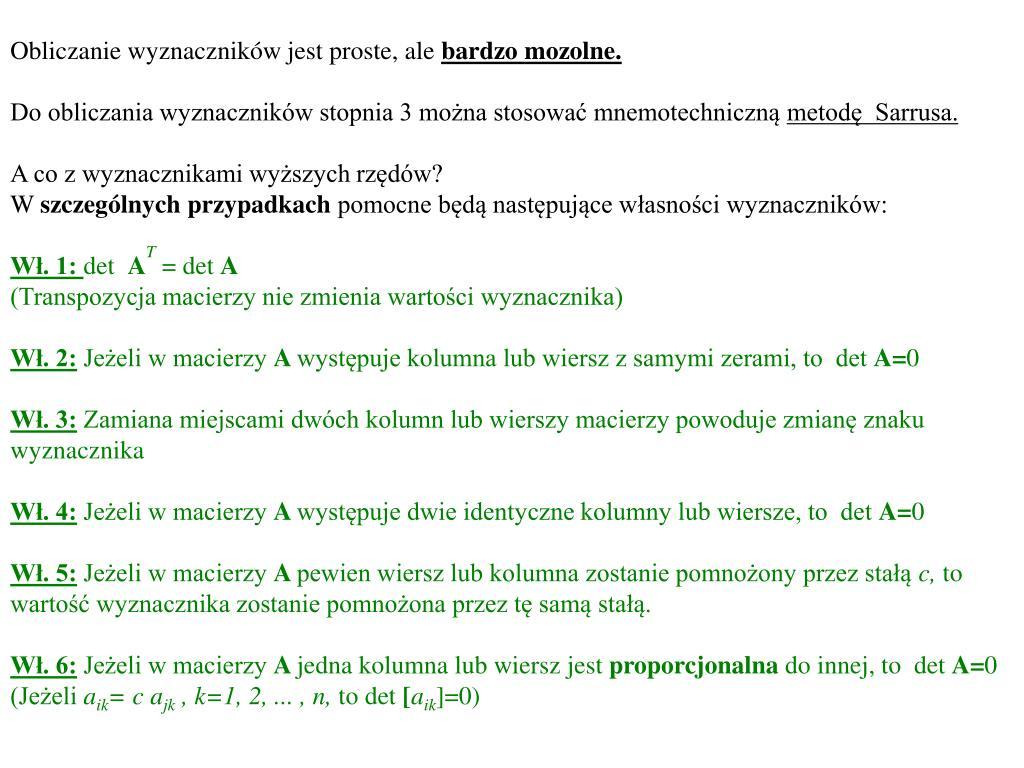 Ppt Matematyka Ekonomia Finanse I Rachunkowość Semestr 1 I