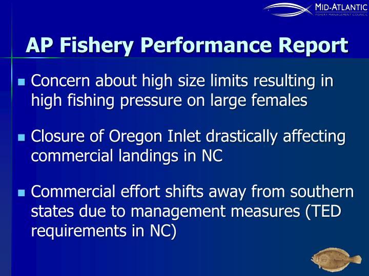 AP Fishery Performance Report