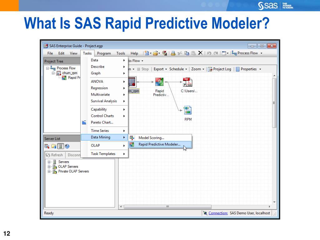 PPT - Chapter 3: SAS Rapid Predictive Modeler PowerPoint