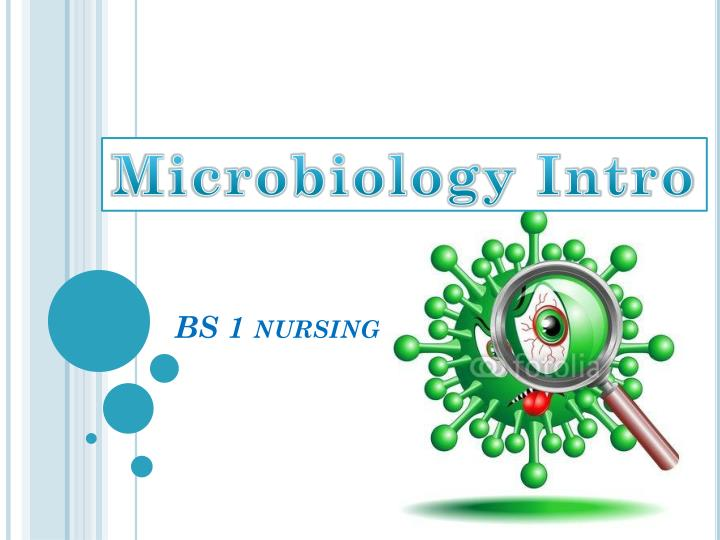 Microbiology Intro