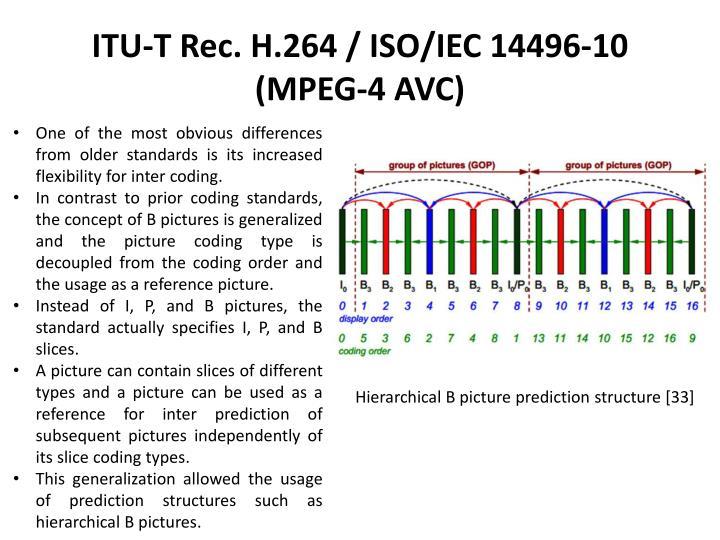 ITU-T Rec. H.264