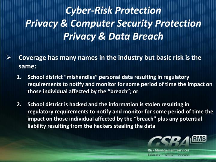 Cyber-Risk Protection