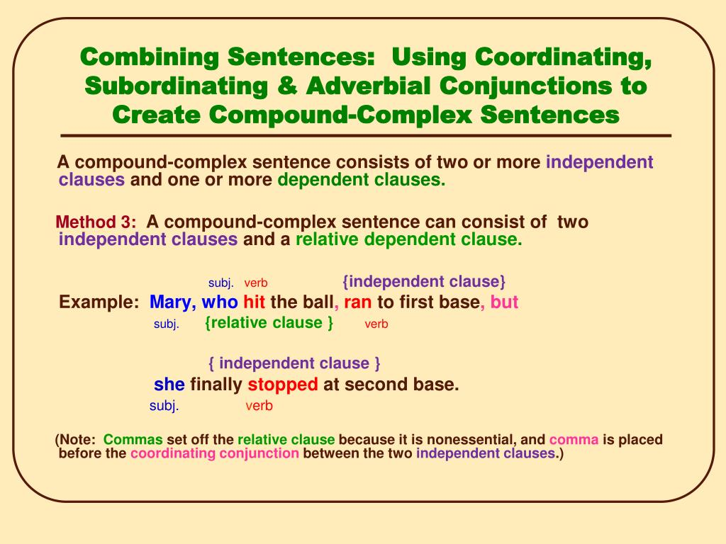 PPT - Sentence Combining PowerPoint Presentation, free download - ID:6667210