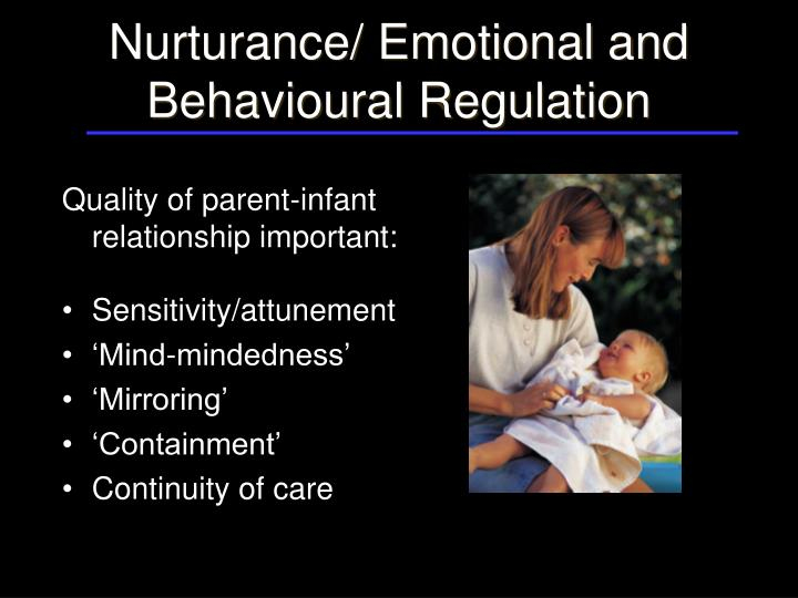 effects of parental empathic attunement on children Attachment parenting (ap) is a parenting philosophy that proposes methods which aim to promote the attachment of parent and infant not only by maximal parental empathy and responsiveness but also by continuous bodily closeness and touch.