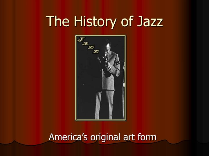 the history of jazz n.