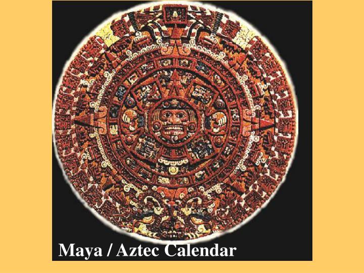 Maya / Aztec Calendar