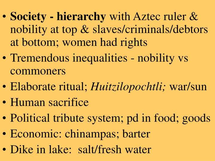 Society - hierarchy