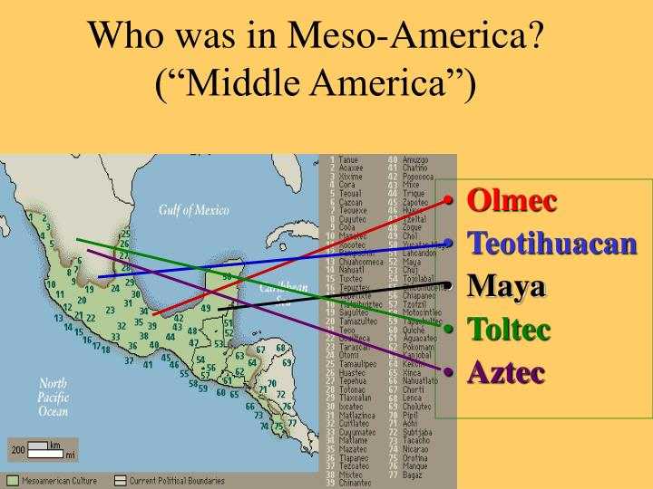 Who was in Meso-America?