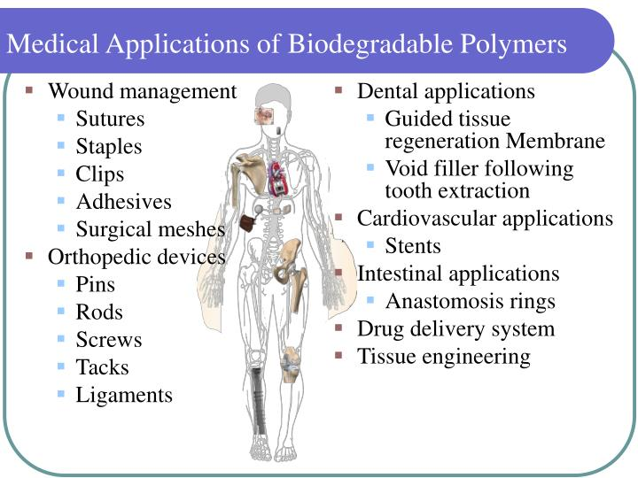 Ppt Biodegradable Polymers Chemistry Degradation And