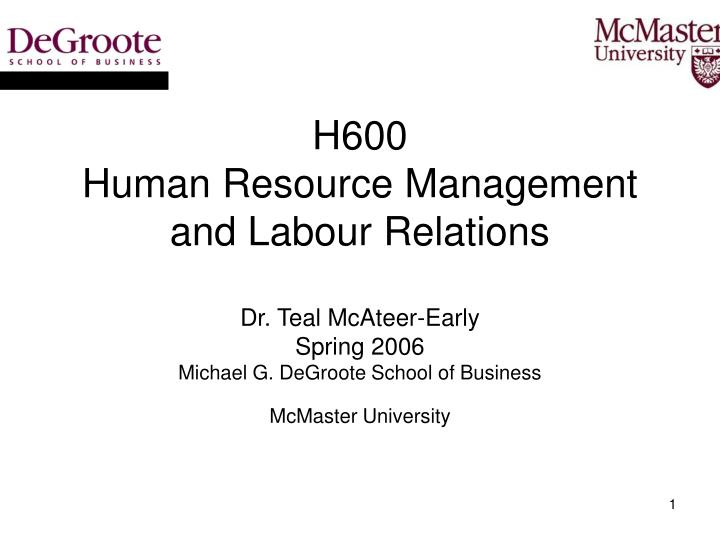 a brief introduction to the international human resources management ihrm and its terminologies These are all important elements of an international human resource management (ihrm) - the topic of this report the aim of this report is to show some solutions for problems in the ihrm of l'oreal.