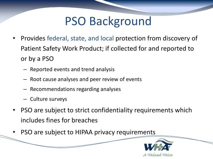 PSO Background