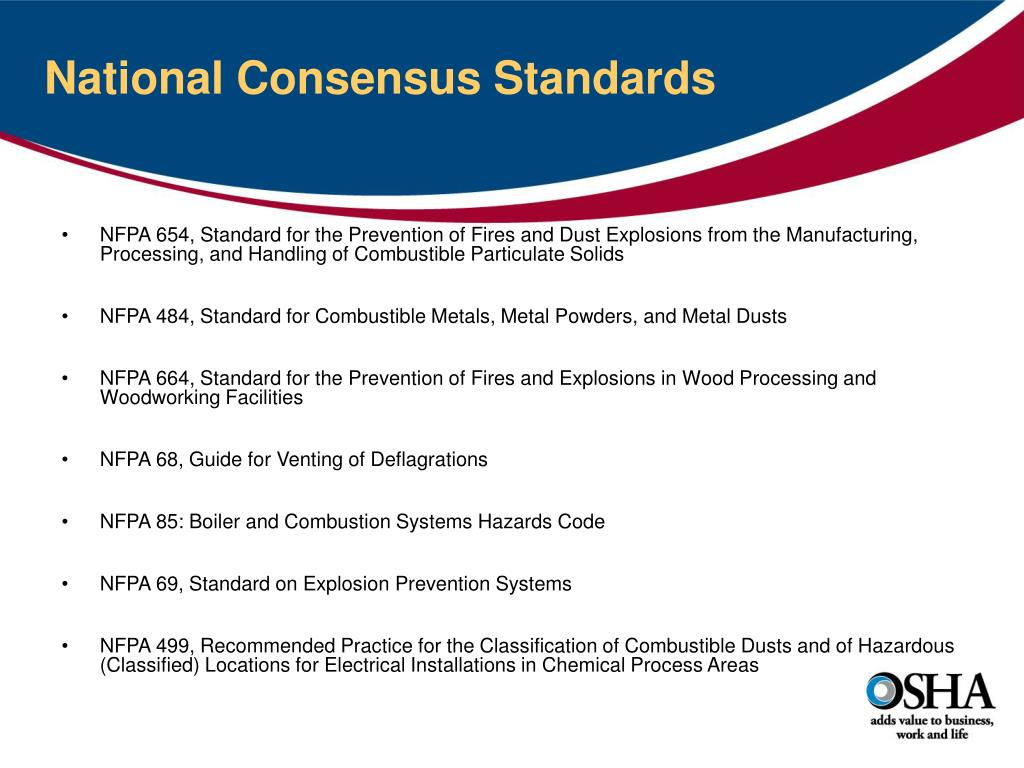 PPT - Combustible Dust Hazards and Control PowerPoint
